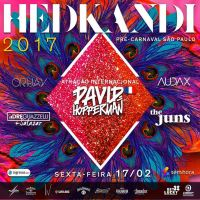 Hedkandi - Pré Carnaval, e dale festa!