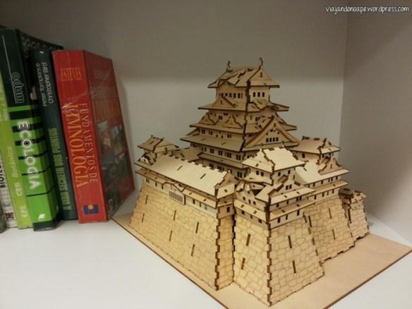 Castelo de Himeji_quebra cabeça_madeira