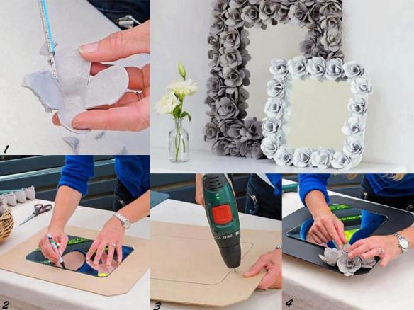 customizar quadros_molduras_flores_caixa_de_ovos