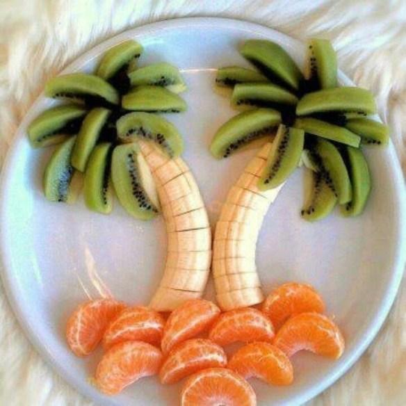 desenho frutas crianças