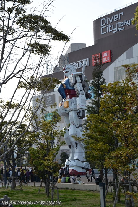 Gundam_robô_Odaiba