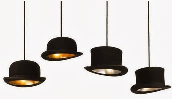 Luminárias pendentes no balcão da cozinha