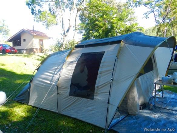 barraca de camping T6.2 Quechua