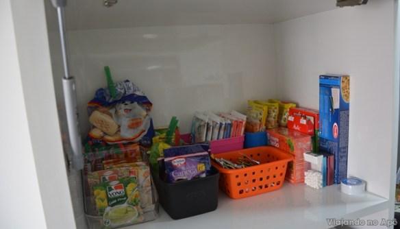 organização armario cozinha despensa