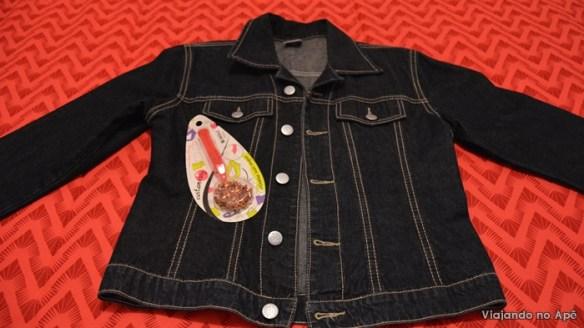 personalizar customizar jaqueta jeans