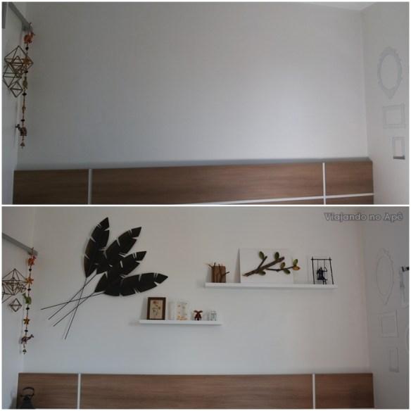 antes e depois parede da cabeceira