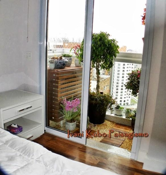 escondendo condensadoras ar condicionado varanda