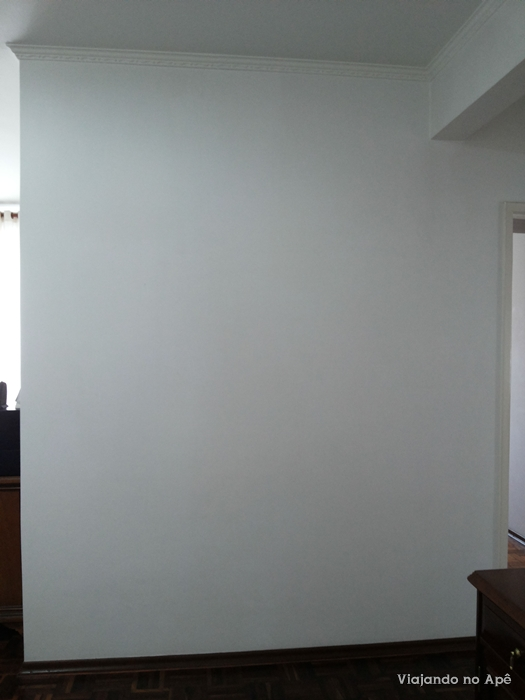 decoraçao parede branca parede decorada