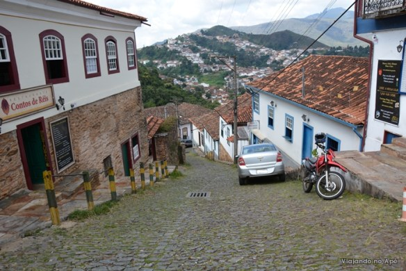 ladeira de Ouro Preto
