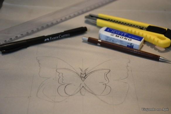 borboletas diy
