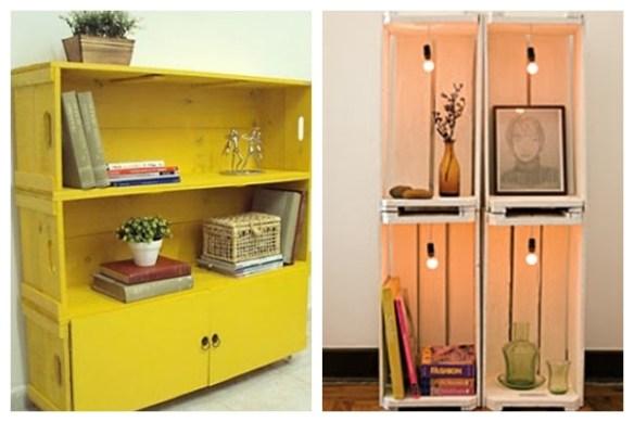 caixotes de feira ideias de como usar decoração