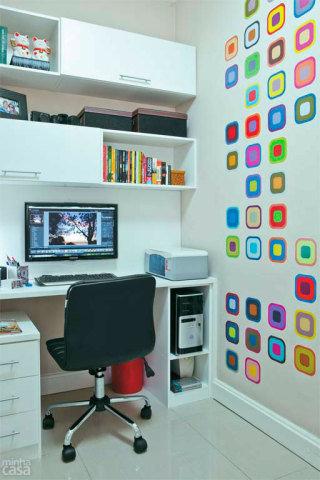 decoraçao home office adesivos