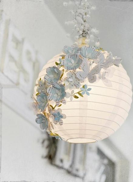 luminaria de papel ideia decoraçao 2
