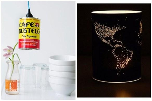 luminaria latas diy faça voce mesmo ideias criativas luminaria pendente 2