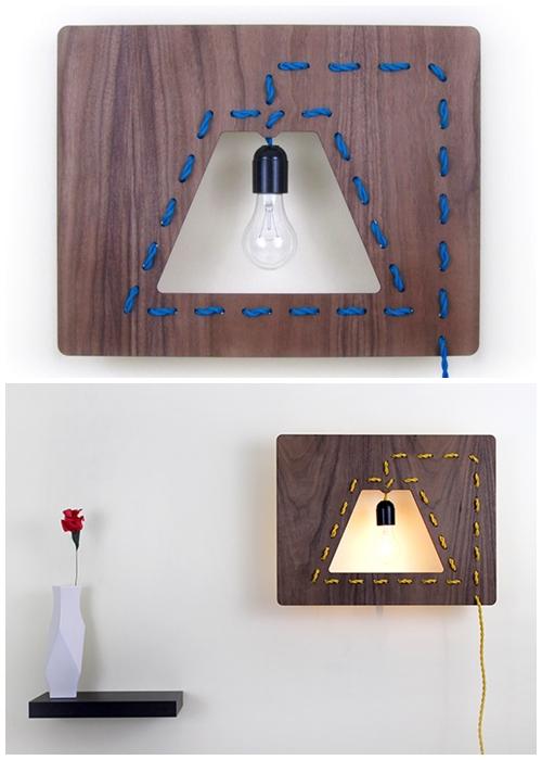 luminaria tabua madeira ideias criativas diy faça voce mesmo