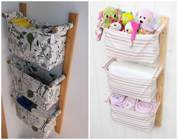 cestos-tecido-suspensos-parede