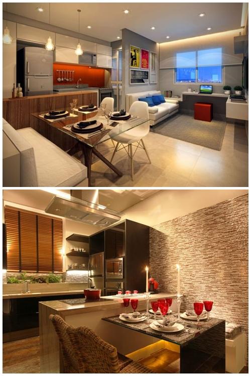 sala-de-jantar-pequena-mesa-com-banco-apartamento-pequeno