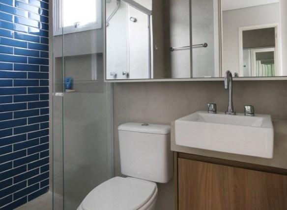 azulejo metro subway tiles coloridos banheiro decoracao