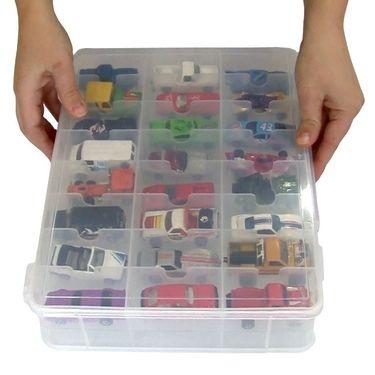 caixa organizadora carrinhos