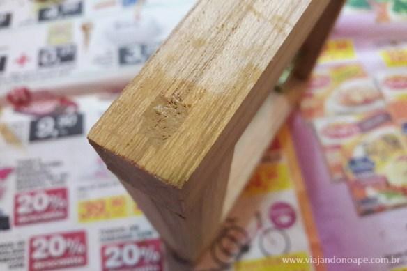 como esconder parafuso madeira massa