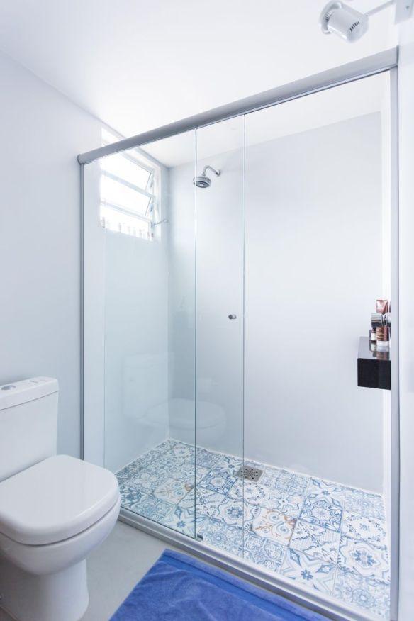 ladrilho hidraulico piso banheiro decoracao