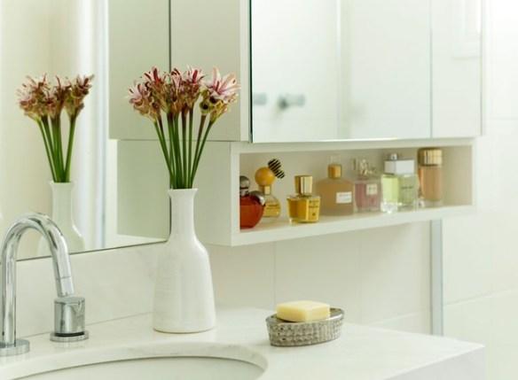 moveis banheiro nicho armario decoracao