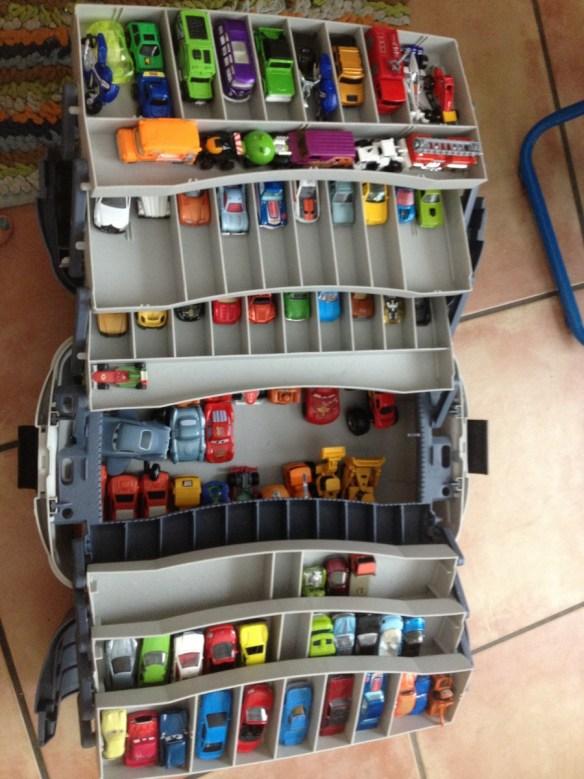 onde e como guardar organizar carrinhos