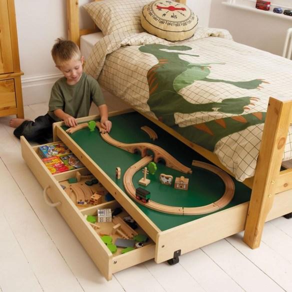 organizacao brinquedos embaixo da cama ideias criativas 2