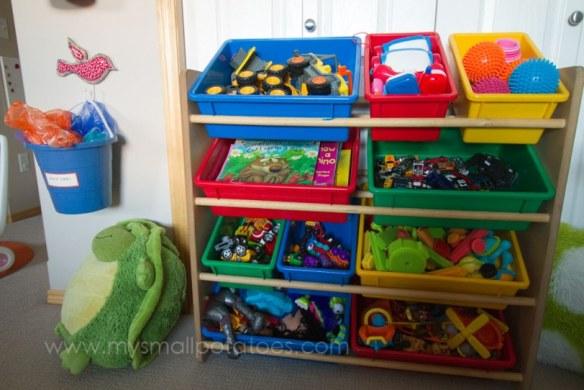 organizador brinquedos cestos caixas