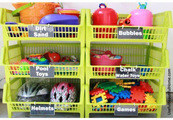 organzizacao brinquedos fruteira