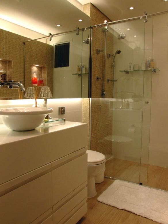 pastilhas area chuveiro decoracao banheiro
