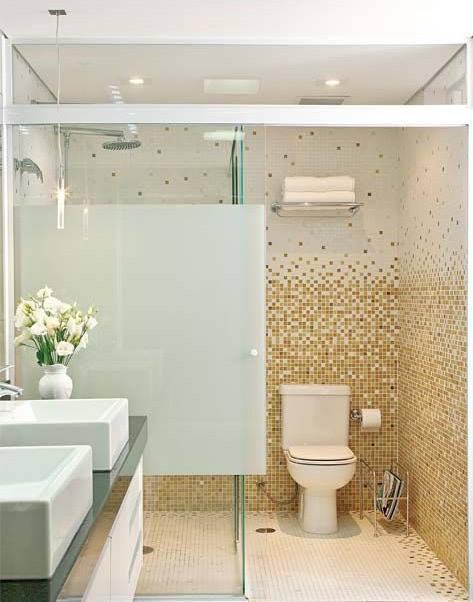 pastilhas degrade banheiro decoracao