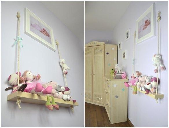 prateleira criativa bonecas ursinhos decoracao 2