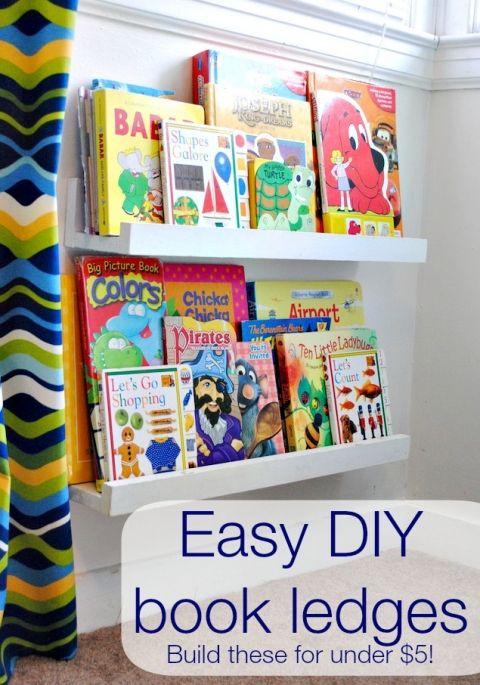 prateleiras livros infantis organizacao quarto crianca