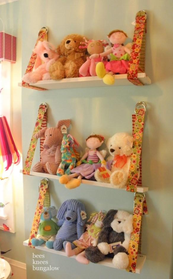 prateleiras para bonecas ursinhos organizar brinquedos