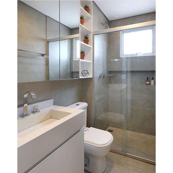 revestimento imita cimento queimado banheiro