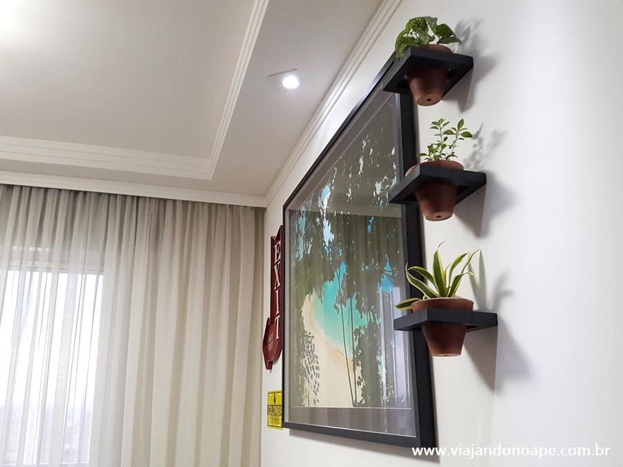 Suporte para plantas de parede - DIY