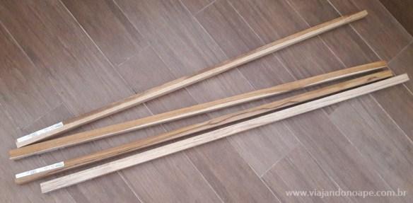 suporte para vasos de parede madeira ideias faca voce mesmo diy pontaletes madeira