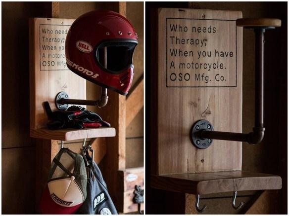 suportes para capacete faca voce mesmo ideias
