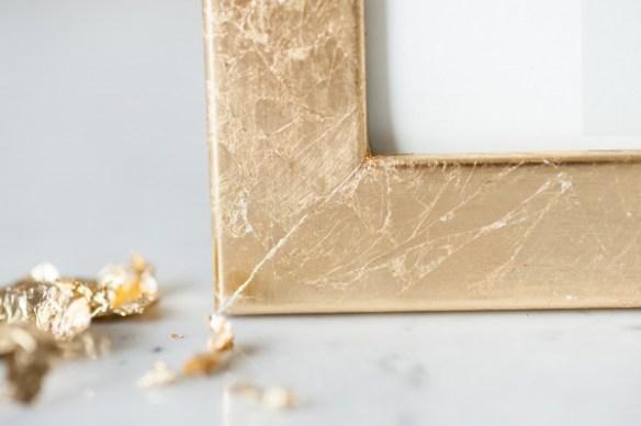 como decorar molduras quadros personalizacao molduras ideias dourado folha ouro