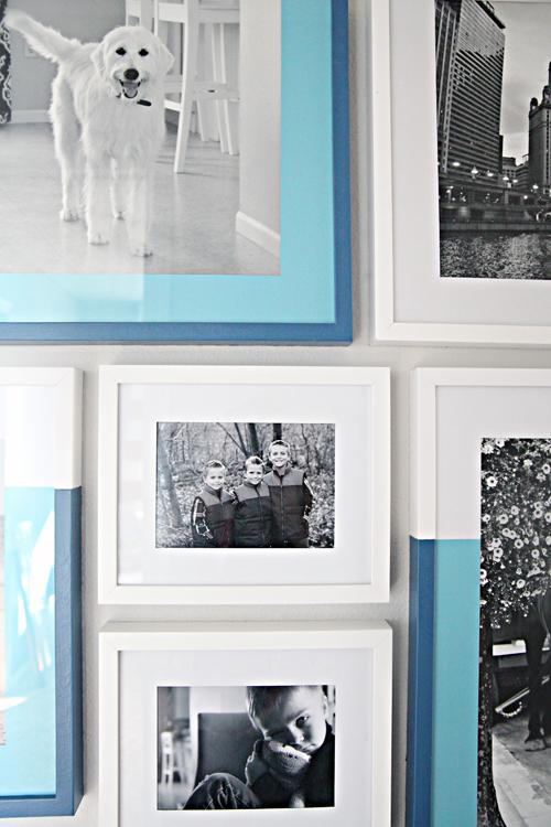 personalizar decorar molduras pintura degrade ideias diferentes