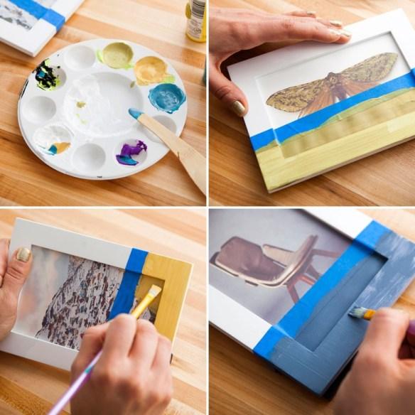 personalizar molduras decorar quadros ideias diferentes criativas faca voce mesmo diy 2