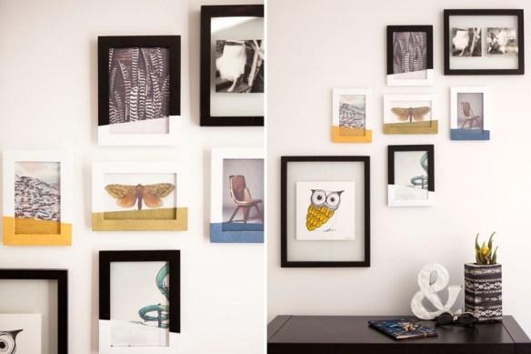 personalizar molduras decorar quadros ideias diferentes criativas faca voce mesmo diy