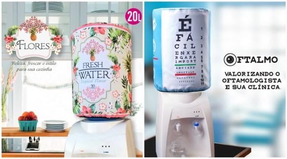 capa galao garrafao agua divertida criativa esconder disfarcar galao 2