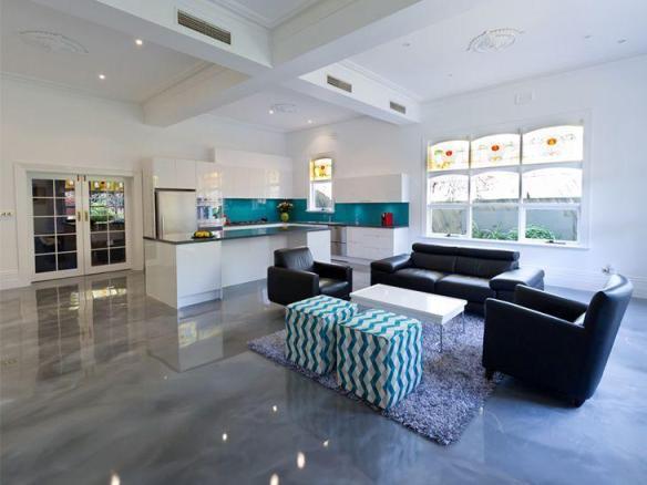 porcelanato liquido resina marmorizado cozinha sala