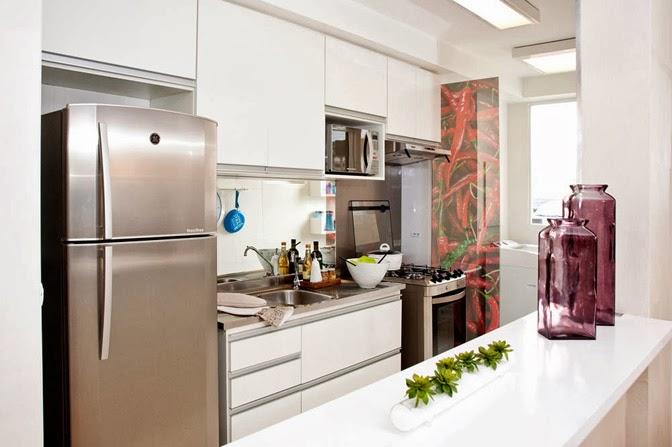 Como separar a cozinha da área de serviço