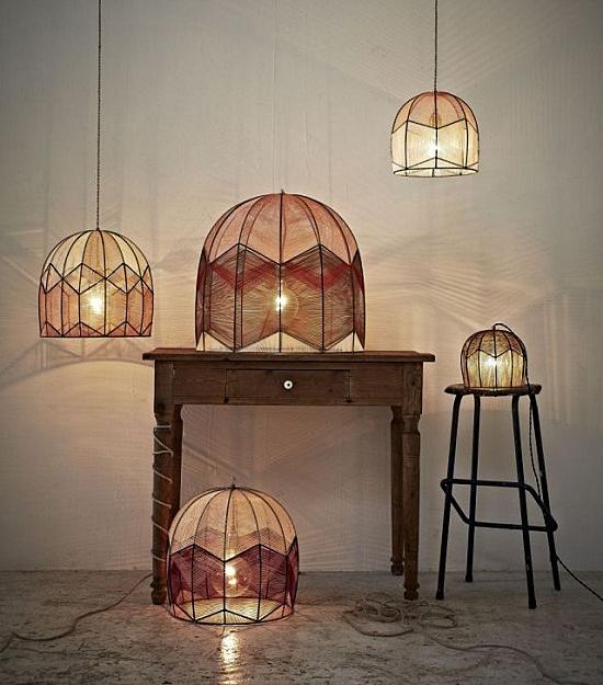 Intricate-lamps-luminaria fios linhas design