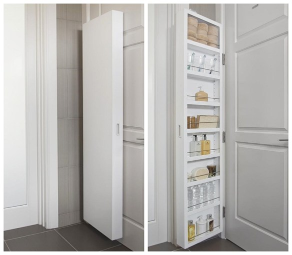 armario atras da porta organizacao ideias pequenos espacos aproveitamento otimizacao espaco apartamento 2