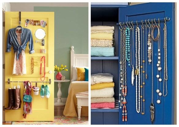 atras da porta guarda roupa ideias aproveitamento espaco colares bijuteria espelho organizacao 2