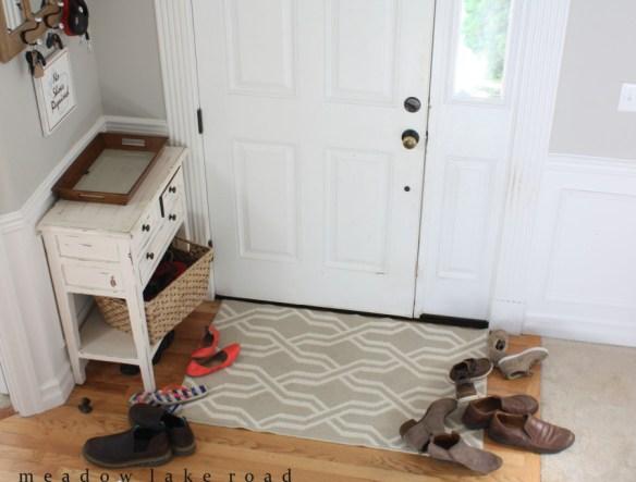 formas organizar sapatos entrada casa